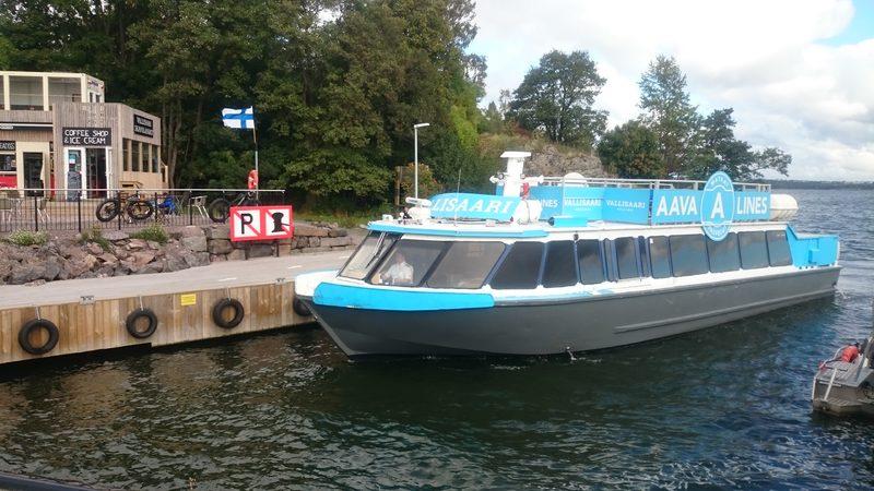 Private cruise with M/S Vallisaari