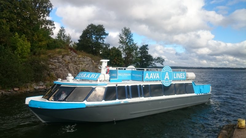 Lunch cruise with M/S Vallisaari for 1-60 people