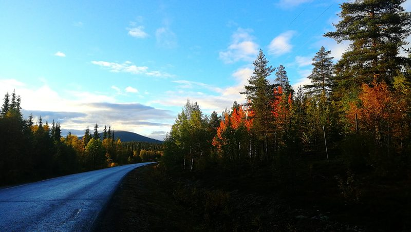 Around the lake Jerisjärvi, part 1