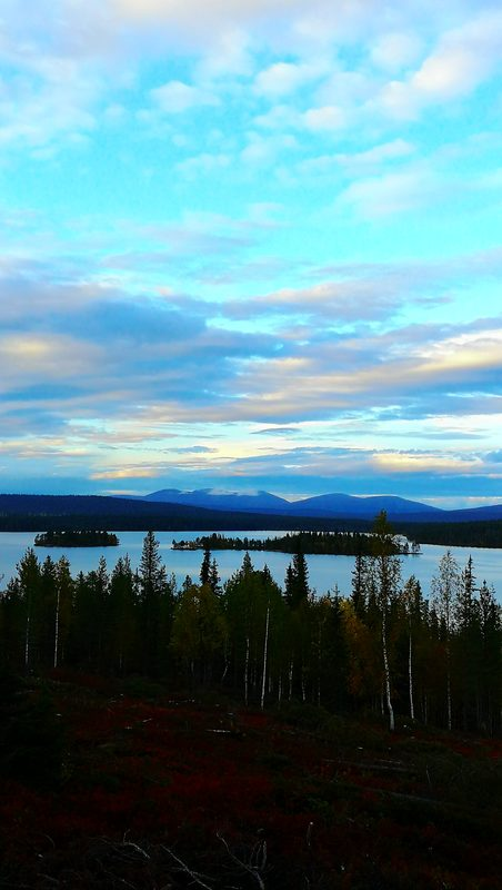 Around the lake Jerisjärvi, part 2