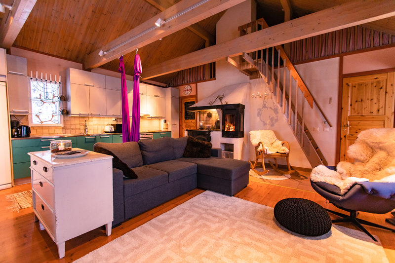 The perfect short holiday in the peace of Lapland's nature in Villa Rauha