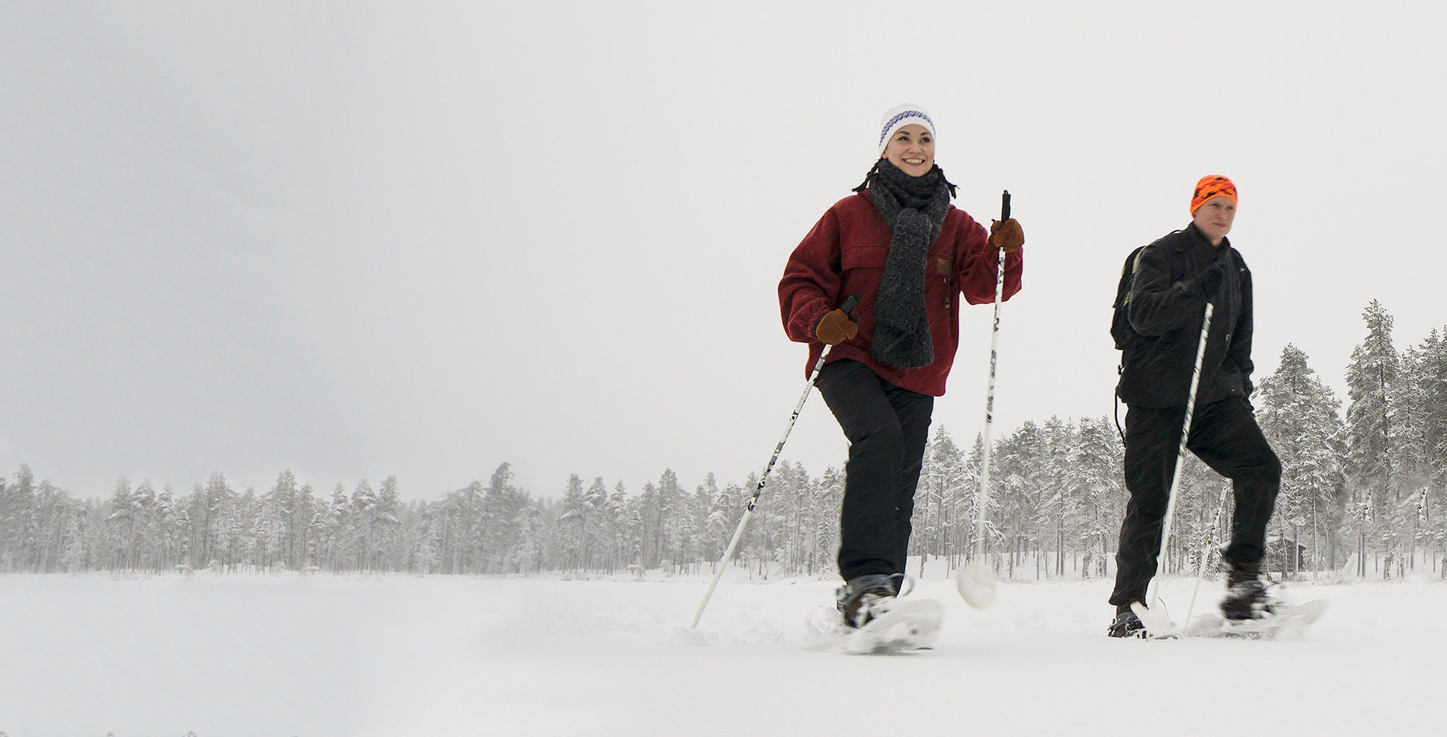 Jäniksen jäljillä - opastettu lumikenkäretki
