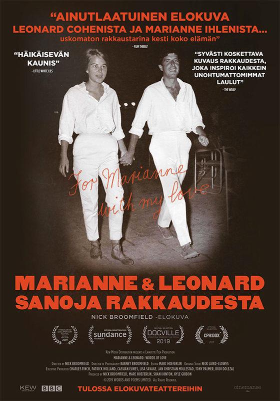 Marianne & Leonard: Sanoja rakkaudesta