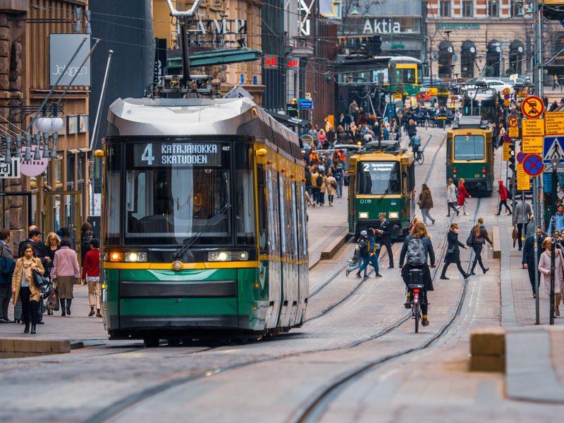 Helsinki Tram Tour