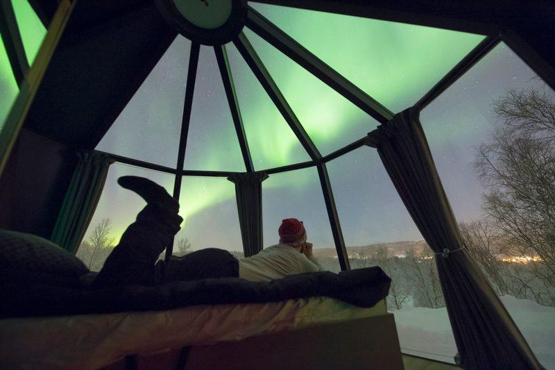 AURORA BOREALIS OBSERVATORY, SENJA, NORWAY