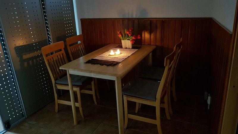 Dining area, ruokailutila
