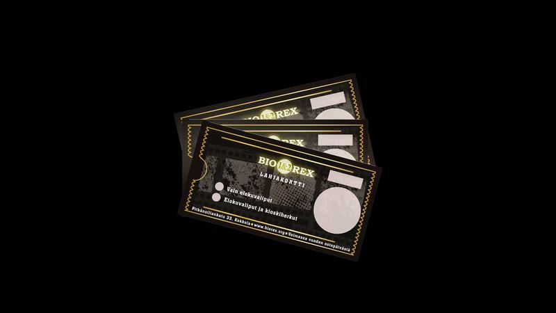 Lahjakortit ja elokuvaliput