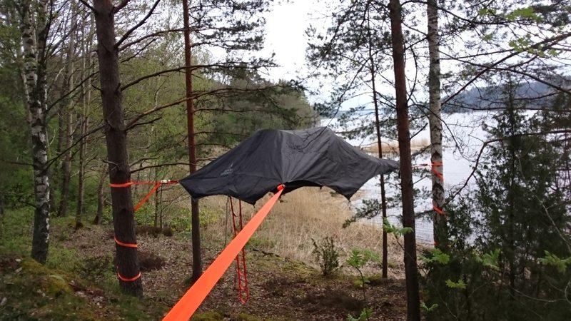 Lemmenpesä - Tentsileen laittoa.. 2019