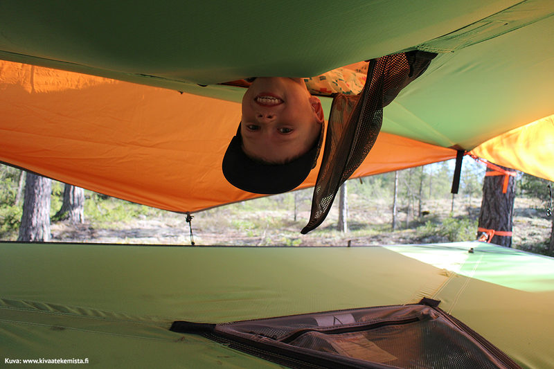 Grelsböle Pleasure Day, Tentsile night for 3 persons