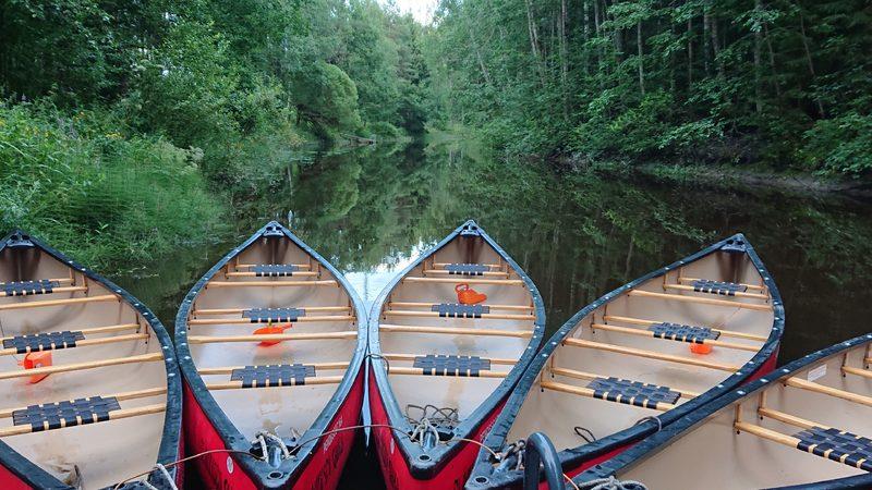 Elämysken Taian kanootit ovat vaikaita