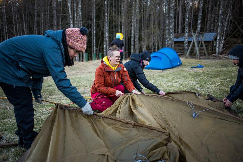 Minivaellus / vaelluskurssi Isojärvellä