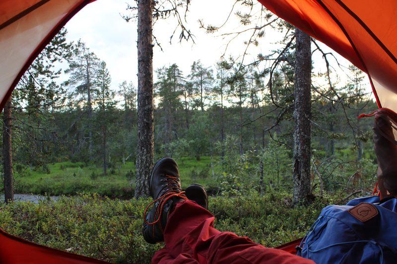 Aloittelijoiden vaellus Salamajärven kansallispuistossa