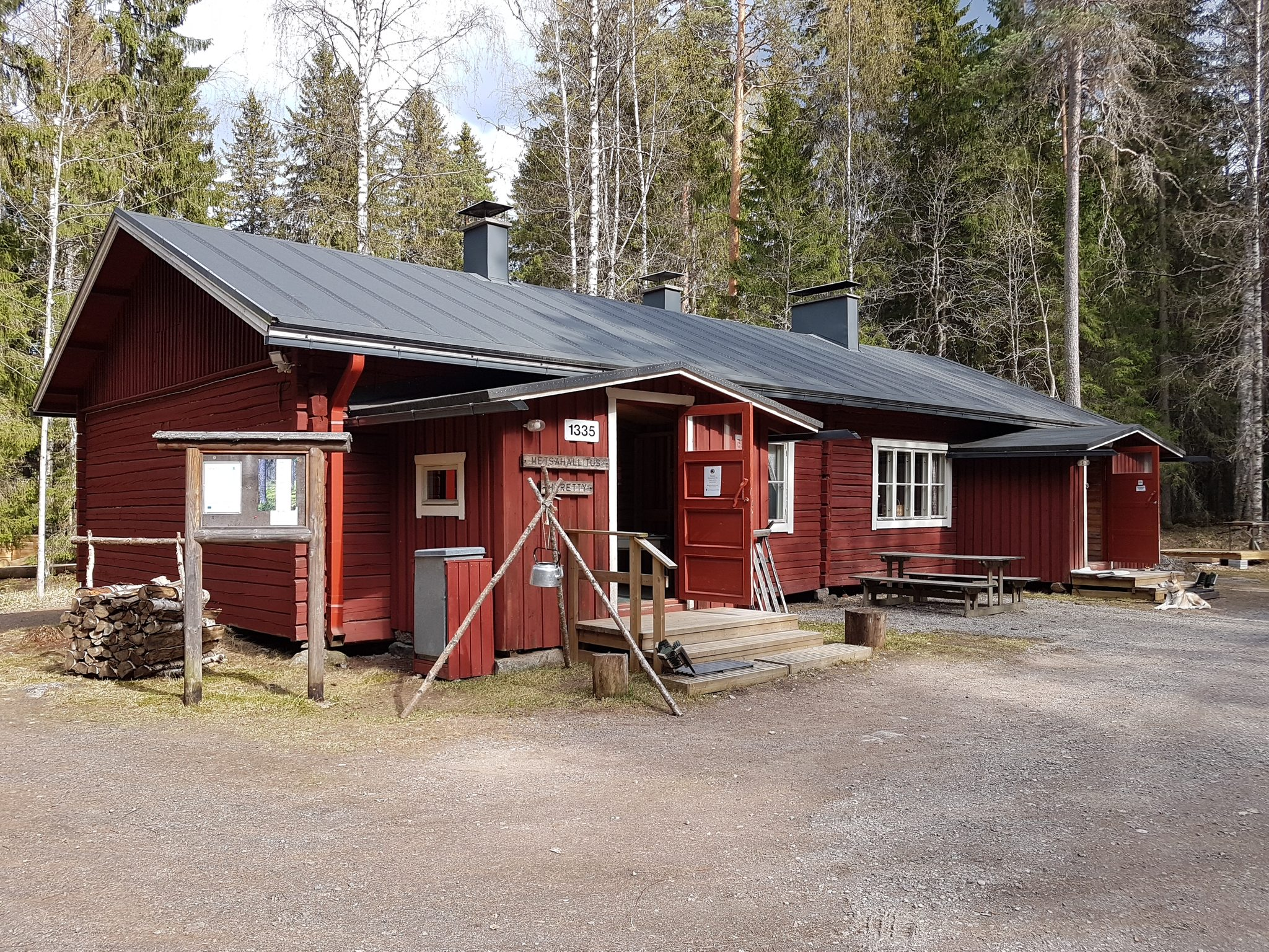 Heretty cabin accommodation
