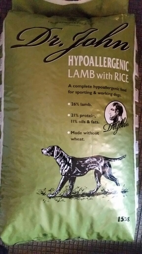 Dr. John Hypoallerginic Lamb with Rice