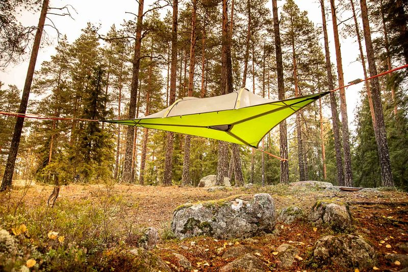 Skytent for Two at Nuuksio's North Gate