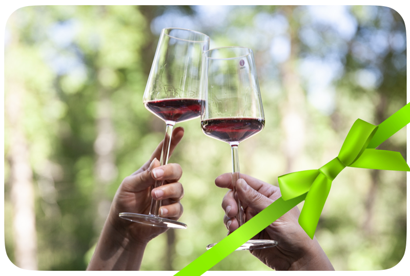 Wine in the Woods gift voucher for two