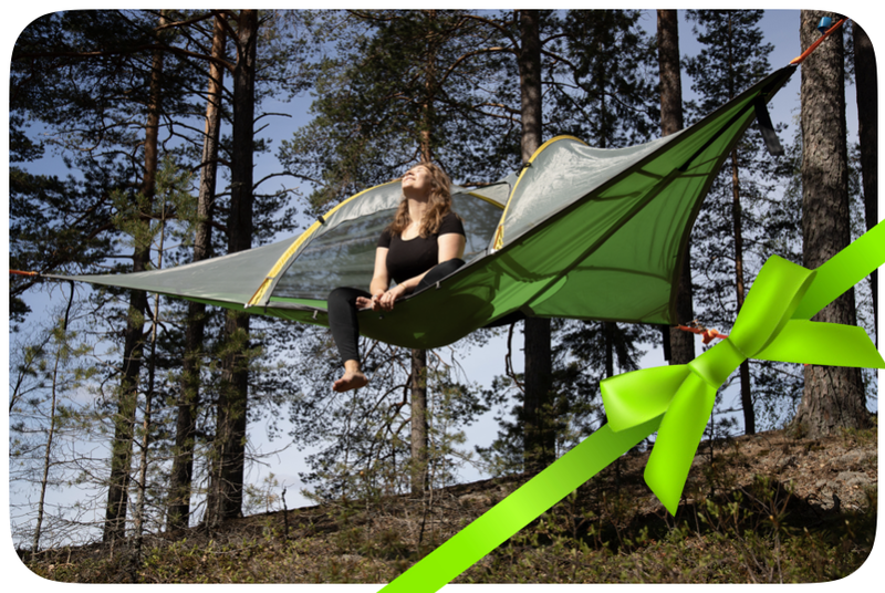 Gift voucher Tentsile Experience Nuuksio North for two