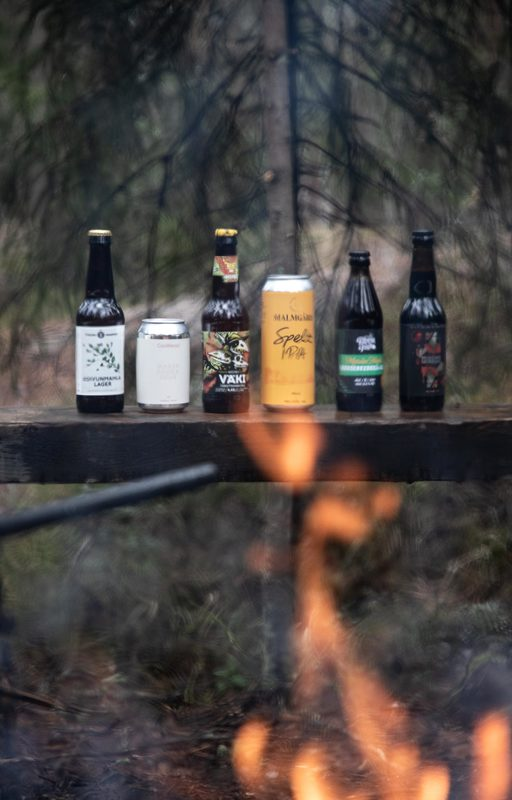 Beer in the Woods