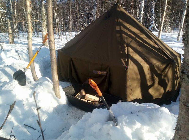 Kamiinalämmitteisten telttojen vuokraus