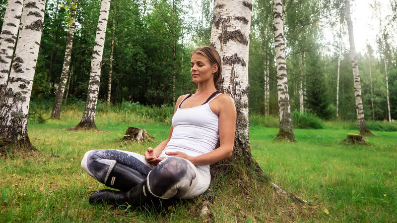 HELSINKI AREA - Yoga in Peaceful Nature