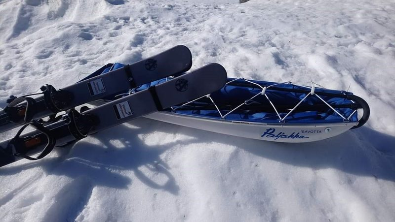 Lapp's sledge (Savotta)