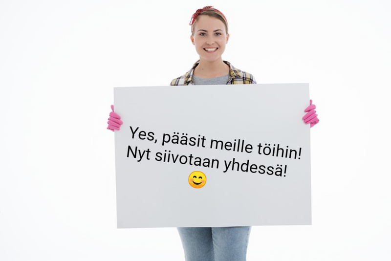 Siivooja /-extraaja