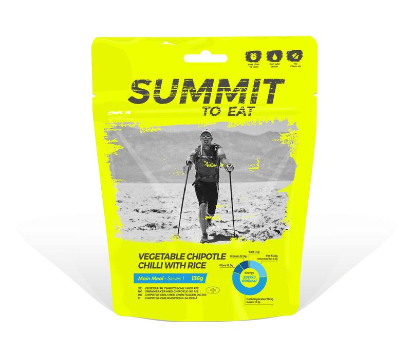 Summit To Eat - Chipotle-chilikasviksia ja riisiä