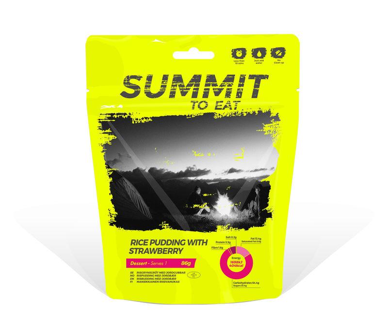 Summit To Eat - Mansikkainen riisivanukas