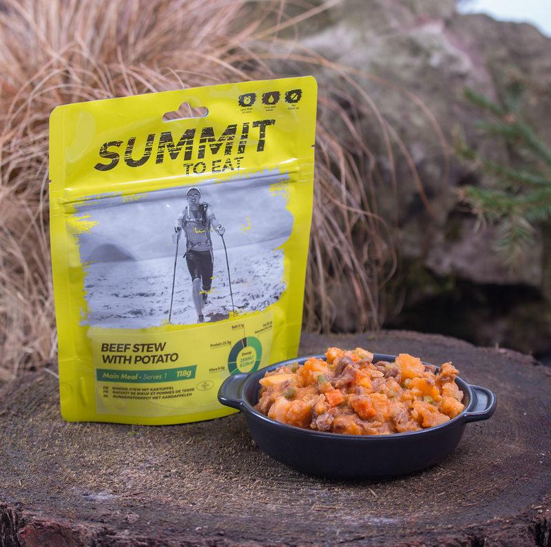 Summit To Eat - Nautapata ja perunoita