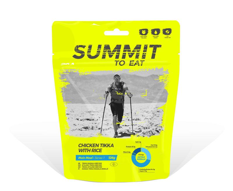 Summit To Eat - Tikka kanaa ja riisiä