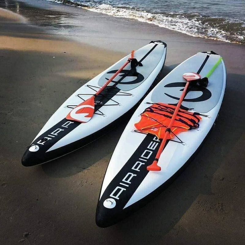 AQUA INC. Air Rider 12'6 inflatable SUP
