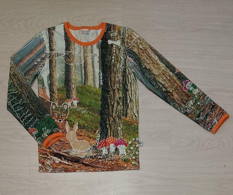 134 cm paita, Metsänhenki
