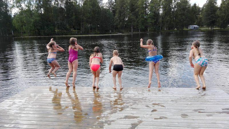 Uimaranta_lapset_Heinola - Lähimmät uimarannat vain 15min. kävelymatkan päässä.