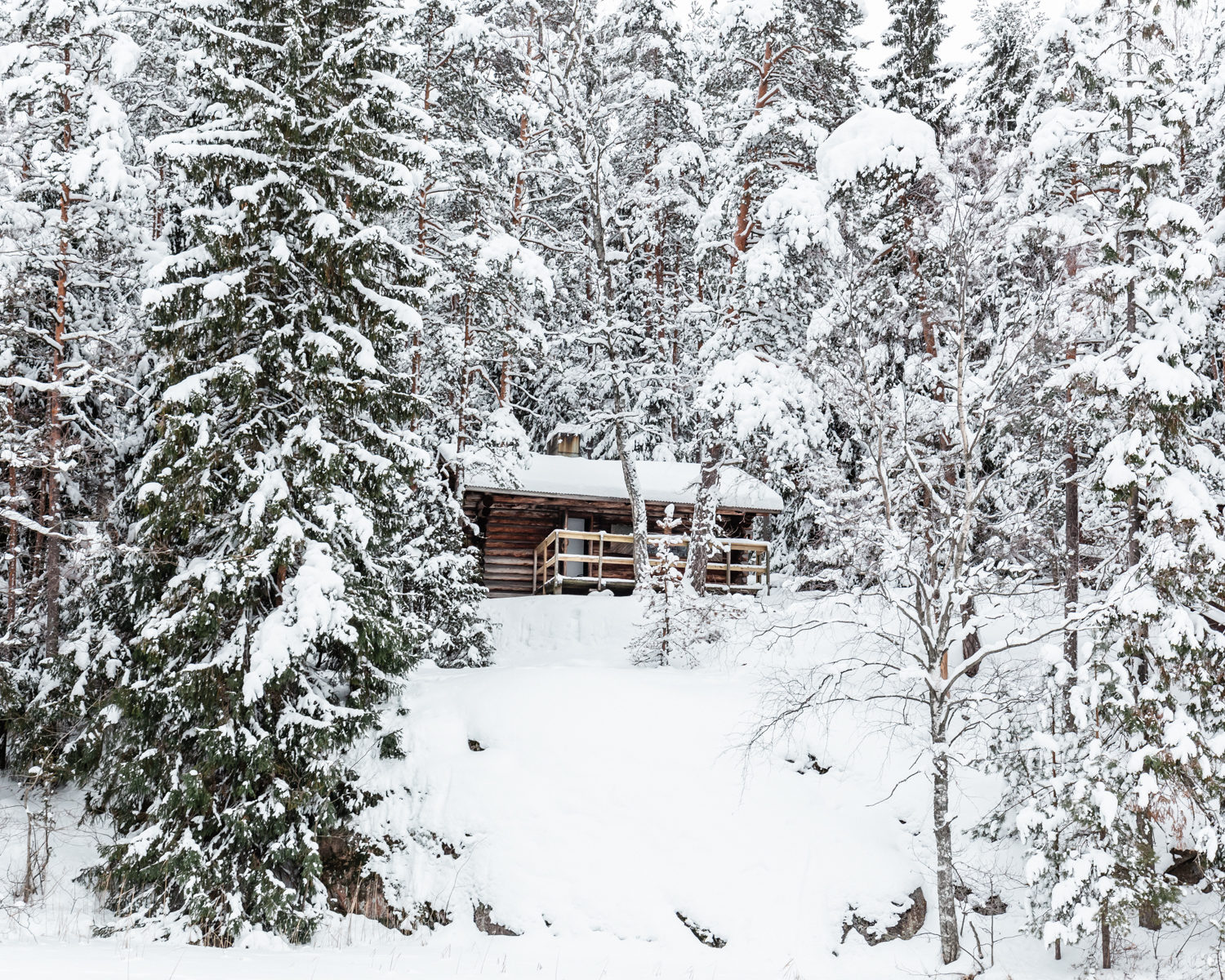 Wilderness Cottages in Nuuksio National Park