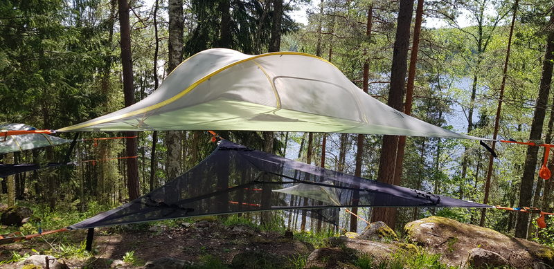 Gift Certificate Tentsile Experience EcoCamp Nuuksio summer 2021 for tree persons