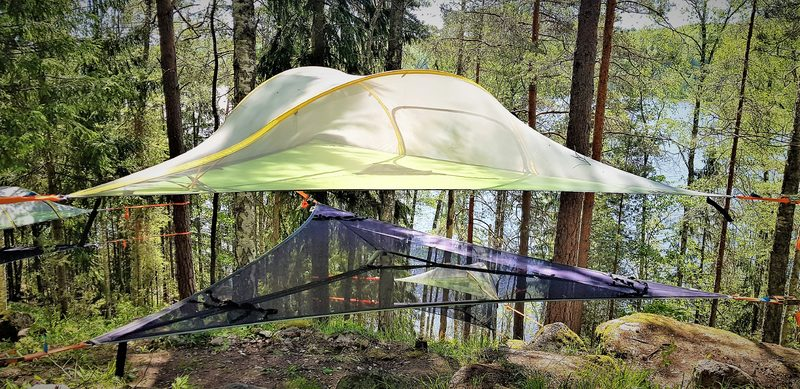 Gift Certificate Tentsile Experience EcoCamp Nuuksio summer 2022 for tree persons