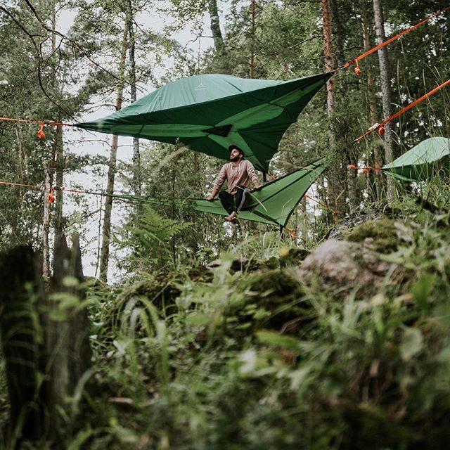 Tentsile Experience EcoCamp Nuuksio