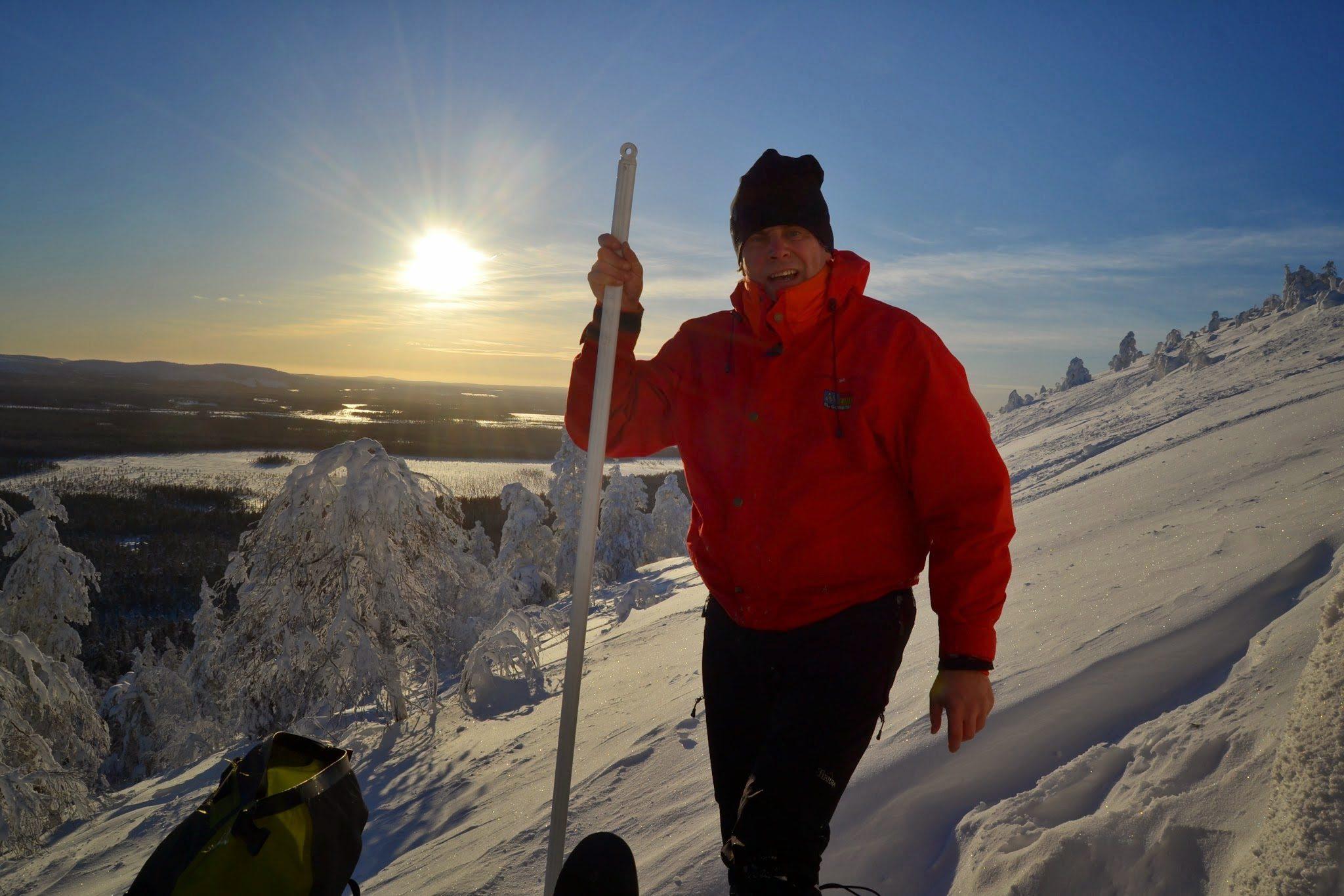 Avaa ovi elämyksille - Markku Janhonen talvikuva lappi
