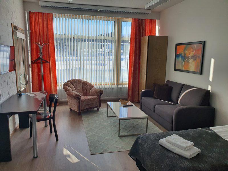 Viikinhovi Apartments huoneisto kahdelle + lisävuode yhdelle
