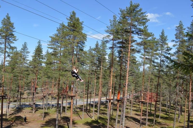 400m pitkä megaliuku - Suomen pisin upea megaliuku Kruunaa seikkailupäivän