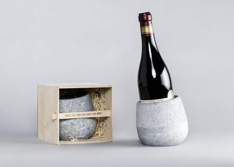 Wine cooler (soapstone)