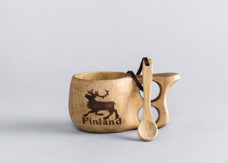 """Guksi """"Finland"""" (from birch burl, size M)"""