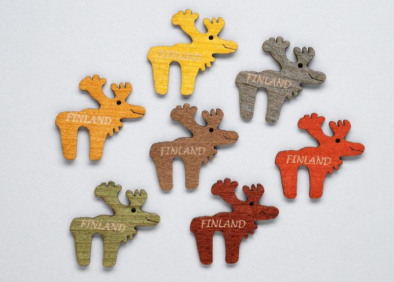 "Fridge magnet ""Reindeers"""