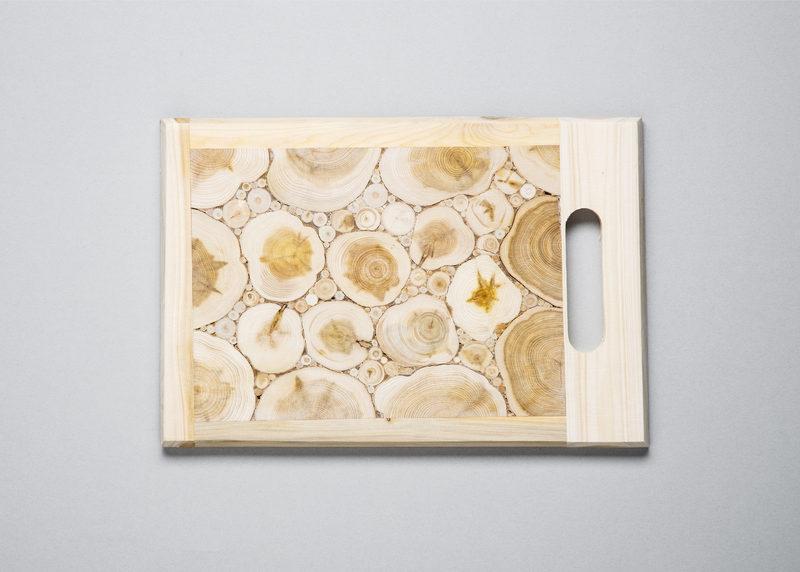 Cutting board (juniper, sized S)