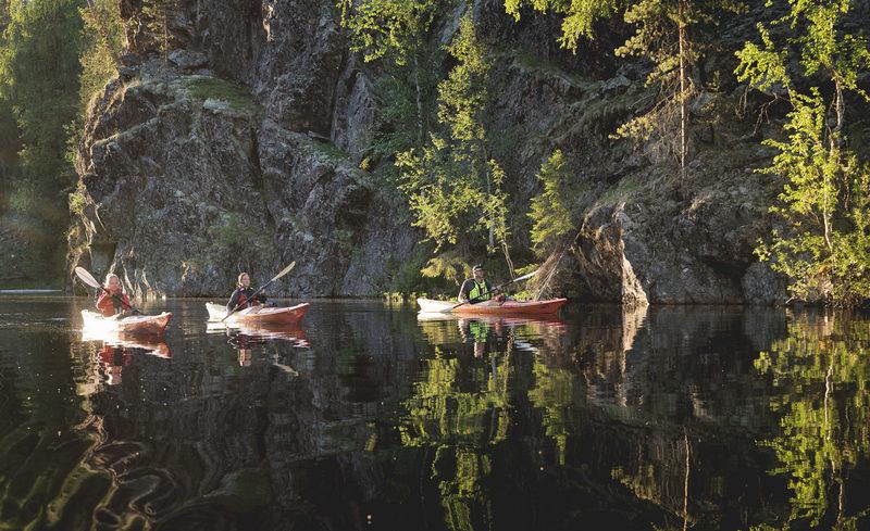 Melontaretki Julma- Ölkkyyn auringonlaskun aikaan