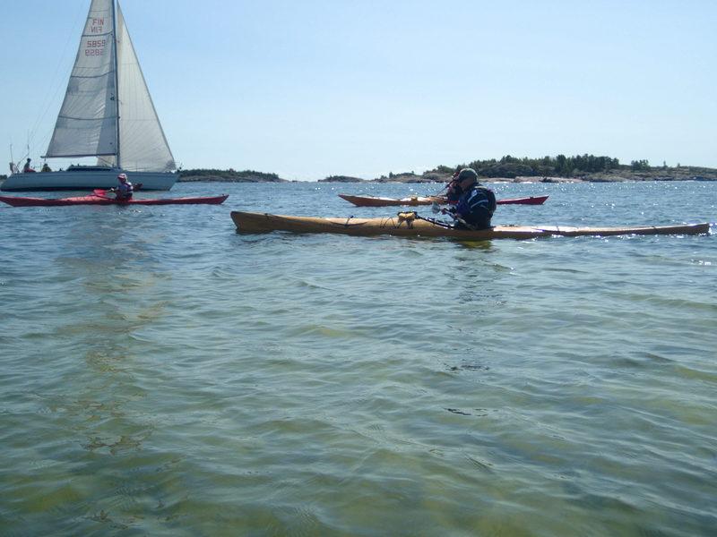 Paddlingstur i Hangö, öppen för ytterligare deltagare