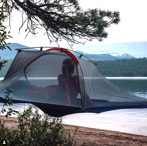 Tentisile Flite   tree tent for hikers and paddlers