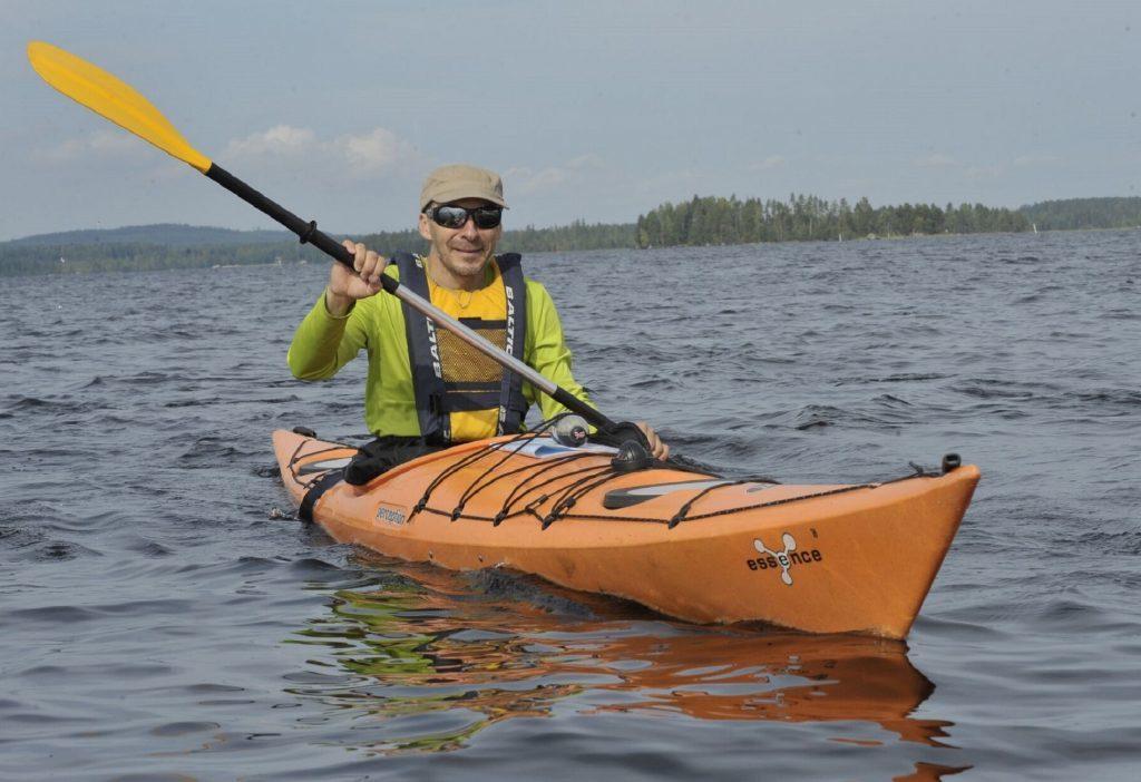 Essence 16 kajakki Etelä-Konnevedellä