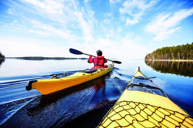 Väliväylä canoeing route