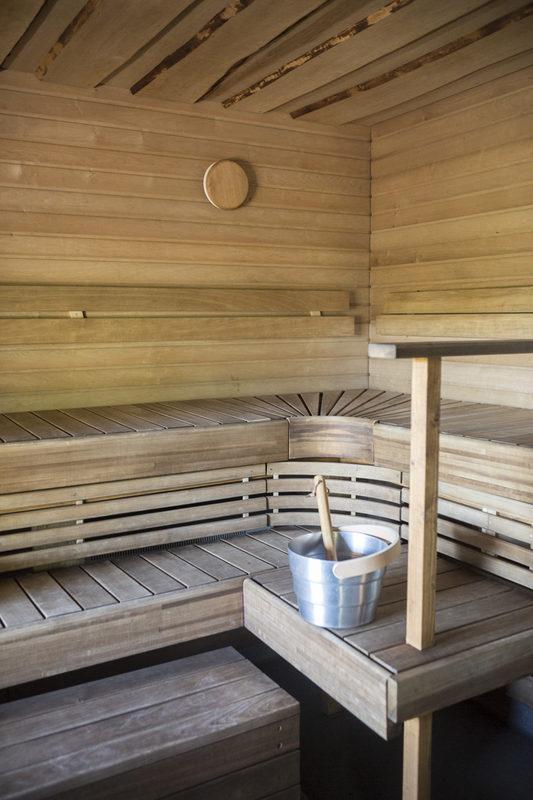 Torpan vastikään kunnostettu sauna